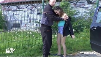 Youngster Date Learned And Fucked Outside And Public Amateur