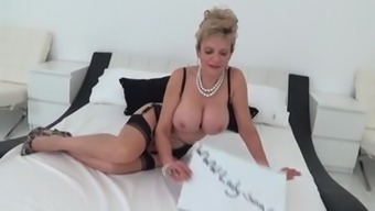 British Milf Girl Sonia gives head a huge junk and gets cumshot