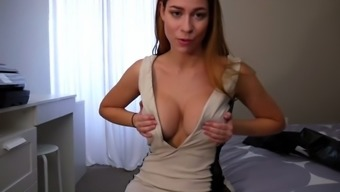 ashley alban - action mom displays new clothing