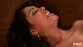 Temptress Ashlynn Brooke and her big bouncing fake boobs