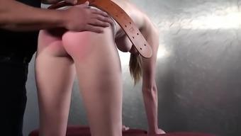 Ashley lane spandex strapping