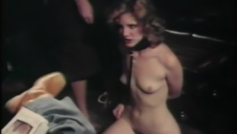 Steamy Blonde Plays BDSM Games With A Nasty Fellow