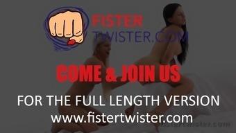 Fistertwister - Sasha Rose Dido Cherub