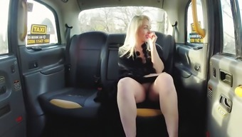 Milf Victoria Summer months fuck in the taxi