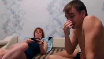 real mom-son web camera 4(four)