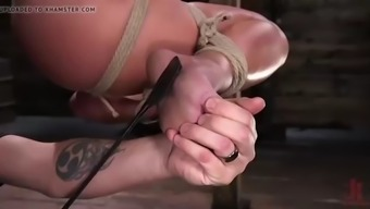 Blond, Major Tits, Enormous Pro Houston Fucking Marie in Servitude