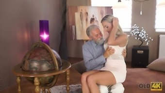Old bearded pass gas fucks magnificent young beauty Shanie Ryan