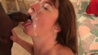 Busty wifey enjoys a superlative undead cock