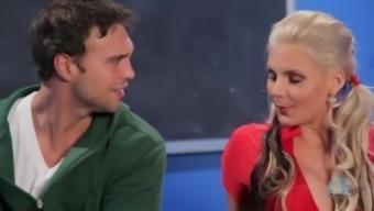 Cheerleader Chandler arizona Marie Gets Her Ass Cracked