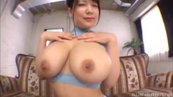 Yuzuki Marian appreciates to really ride an important penis despite the fact that her large titties reflect