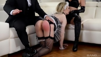 One solid lift isn't a sufficient amount to please brown Chessie Kay
