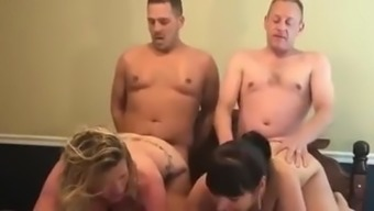 Big tits partners get swapped