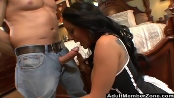 Kiara Mia is very good at feed and ride a penis better than anyone