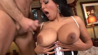 Something Kiara Mia enjoys possibly the most is cycling a excess weight cock