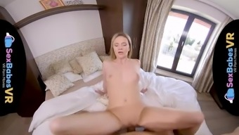 SexBabesVR - Sexy Shower Surprise with Angel Piaff