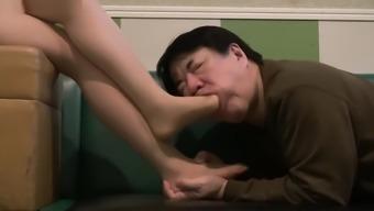 Japanese people Feet WORSHIP