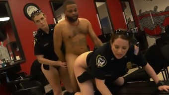 Fake taxi caught by police women and live cam milf