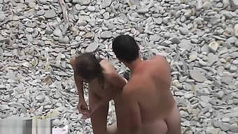 Great Boobs Sizzling Topless MILFs Voyeur Beach Novice Video