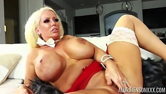 Gorgeous busty blonde MILF Alura Jenson wanna be fucked missionary