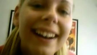 Blonde swedish youngster masturbate plump milf