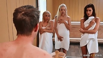 Great group fun with babes Piper Perri, Elsa Jean and Alaina Dawson