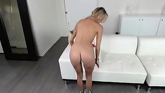 Granny blonde hairy skinny and czech handjob Her tight