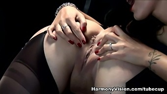 Jewell Marceau & Amber Leigh & Katie Kay In Strap On Sex Slaves