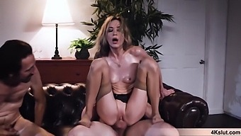 Aiden Ashley Gets A Lesson In Business