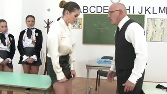 clothed chicks in the training cathy paradise, aida cute, aysha rouge