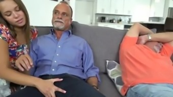 Action dad uses gift on ally's daughter