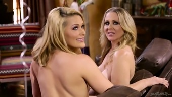 Johnny Chateau fucks Abby Mix and her unclean lesbian girl friend