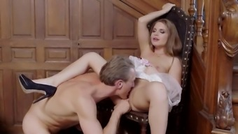 Unusual view along with Alessandra Jane touching and fucking very difficult