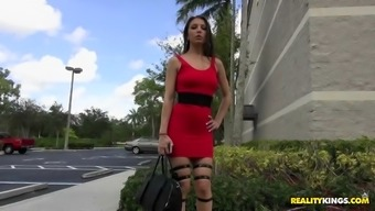 alexis rodriguez turned out to be identifide in a gorgeous high heels and thighs