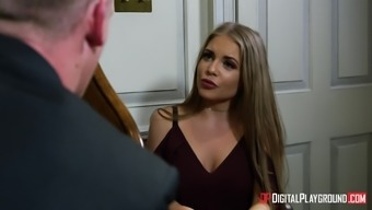 Alessandra Jane cannot fight a lover's massive cock