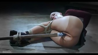 abigail dupree gets her pussy removed using a dildo in bdsm action