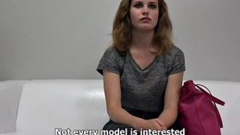 Naive curly black teases with her human body on driving them away