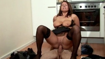 Step-Son Persuade MILF Mother to really Fuck and Ejaculation