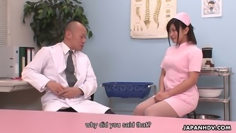 Cute look after Aika Hoshino is obtaining down and soiled with the physician