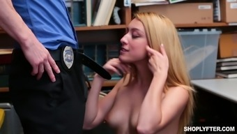 Storage space is exactly where he practice Alexa Raye's polished completely love dig