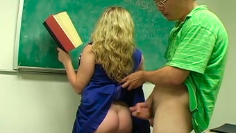 Student fucked her teacher really hard in their wet pussy