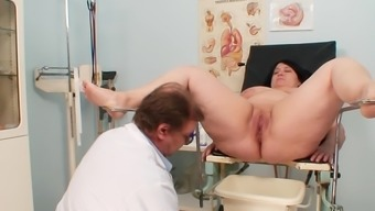 Packed gyno assessment with horny mature
