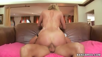 Horny Blond Sucks and Get a Huge Penis in their Pussy