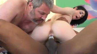 Ivy Charisma Fucks Neighbor when in front of Her Old Boyfriend