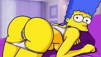 Simpsons porn animated parody