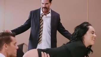 Brazzers - An accused Gets Twofold Dicked