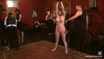 A good Bondage Clip With remarkably Docile Ladies