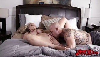 great titted milf julia ann teases before using stiff dick