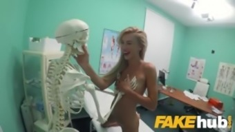 The fake counters Health care centre Cute blond Offenseman eat documentaries sperm after doggystyle fucking