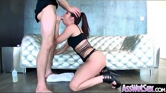 Large Oiled Stupid ass Sizzling Date (Brittany Shae) Like And Enjoy Deep Anus Love-making mov-18