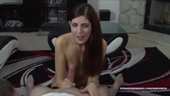 Beautiful 19 Year old Miranda Miller Sucks Cock For Our Pornhub Channel!!!